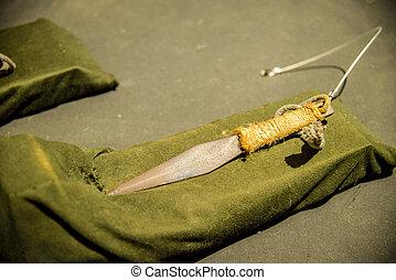 Short knife for Ninja
