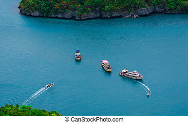 Angthong island thailand - Angthong island of Samui island...