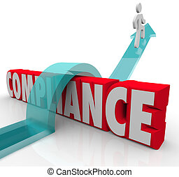 Compliance Person Jumping Rules Regulations - A person...