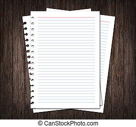 madera, papel, Plano de fondo, cuaderno