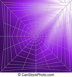 Spiderweb Illustration - Spider web illustration and for...