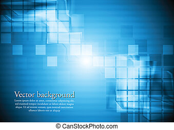 Abstract blue hi-tech background Vector design eps 10