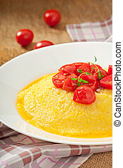 Polenta - Italian traditional food