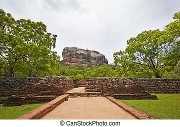 Sigiriya is on World Heritage Sites (UNESCO), Sri Lanka