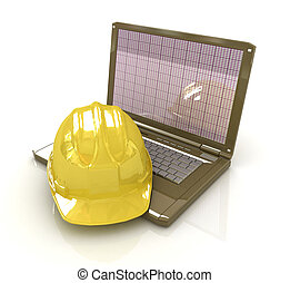Technical engineer concept