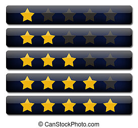 rating review bars