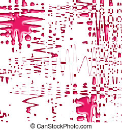 Ink Stain - Ink stain or drops digitally created in high...