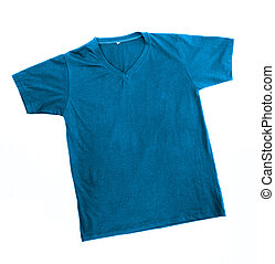 Blue Tshirt Template - blue tshirt template ready for futher...