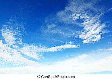 Mild Cloud - Blue sky and mild cloud