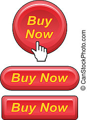Buy Now Buttons - Illustration of three versions of a buy...