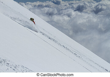 Freeride in Chile