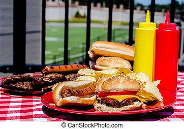 American Football Pregame Party