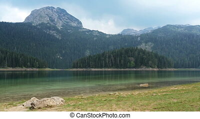 Black Lake, Durmitor reserve - Black lake in Durmitor...