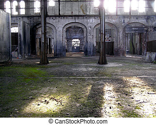 Abandoned factory - Industrial archeology of abandoned...