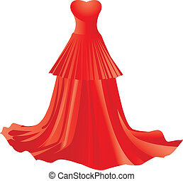 Red dress Clip Art and Stock Illustrations. 17,862 Red dress EPS ...