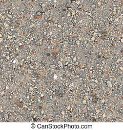 Seamless Texture of Dusty Soil with Debris. - Seamless...