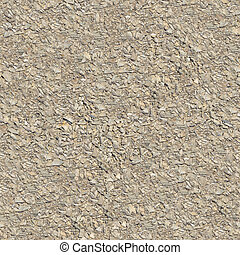 Seamless Tileable Texture of Macadam Surface - Seamless...