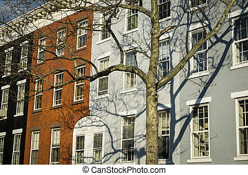Classic old New York City apartment - Classic colorful old...