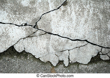 Abstract concrete floor background with cracks