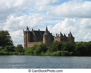 muiderslot4659 - Medieval castle in Holland