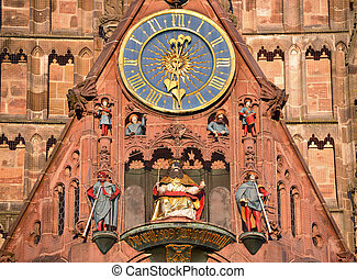 Frauenkirche Nuremberg - Frauenkirche in Nuremberg, Germany
