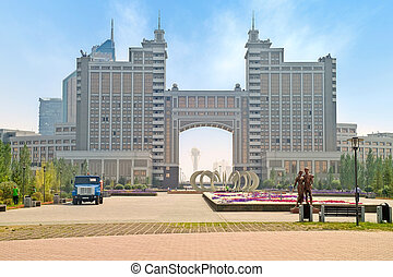 Astana. Municipal landscape - Photo of the capital of the...