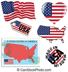national colours of United States