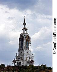 Temple Lighthouse Church. Crimea