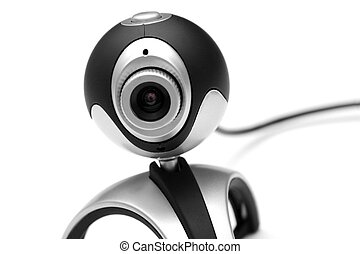 Webcam isolated on white
