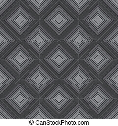 Seamless geometric texture grayscale