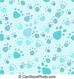Pet legs seamless - Eps 10 vector seamless pattern with pet...