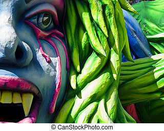 Carnival Float - Detail from a float at the International...