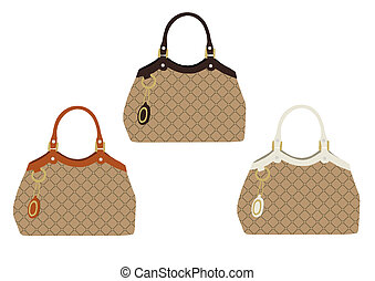 Fashion Handbags part 1 - images for scrapbooking and card...