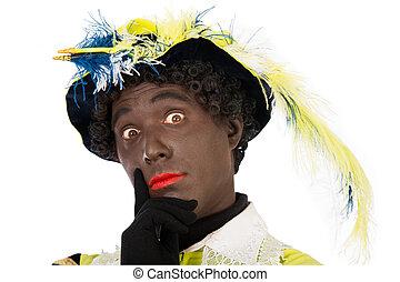 zwarte piet sinterklaas (black pete) - zwarte piet.clipping...