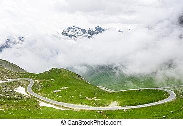 Colle dell'Agnello, Italian Alps - Colle dell'Agnello (Val...
