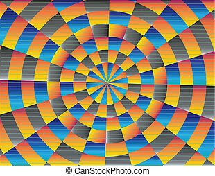 Vintage Blog Spiral