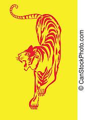 Big Bengal Tiger