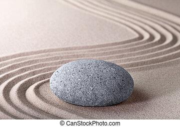 zen, jardín