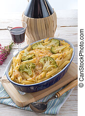 Pasta Casserole with vegetables
