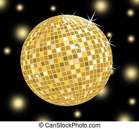 Disco ball Stock Illustration Images. 6,565 Disco ball ...