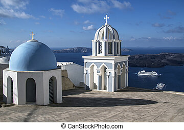 Oia Church, Santorini