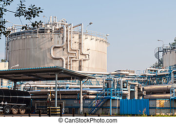 container and special equipment in chemical plants
