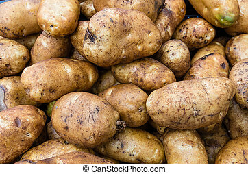Potatoes russet or baking in bulk - Russet baking potatoes...