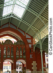 Colon Mercado Valencia - The old colon mercado in Valencia -...