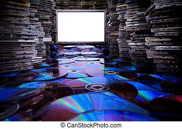 copiado, CD, DVD