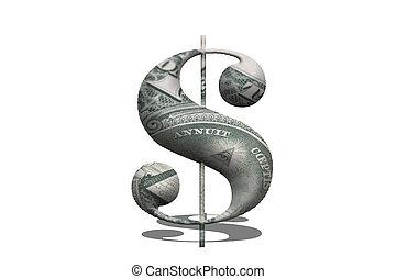 Simbol of Dollar