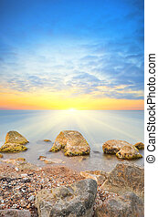 Seascape - Beautiful seascape Composition of nature