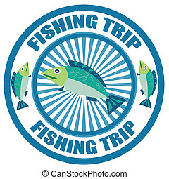 Fishing Trip-Label