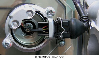 Industrial equipment detail - Part of plant machinery - fast...