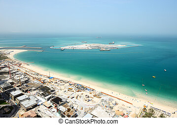 The view on construction Dubai Eye - The view on...